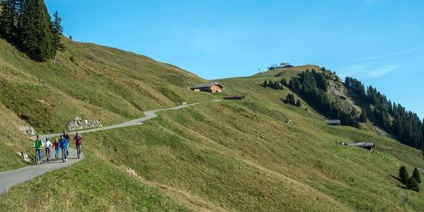 Alpstrasse nach Sillerenbühl