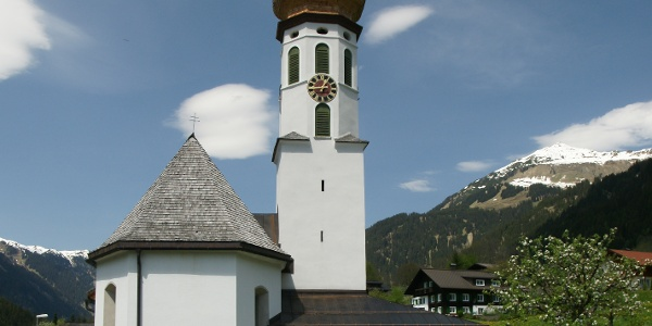 Kuratienkirche Heiliger Nikolaus in Gortipohl