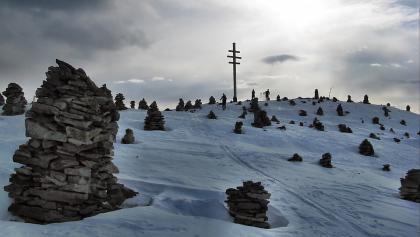 """Stoarnerne Mandl, 2001 m - Wir nähern uns dem """"alten Hexentreffpunkt""""; ein mystischer Platz umfängt uns!"""