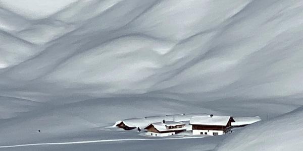 Munt de Sennes im Winter