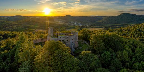 Burg Gräfenstein bei Merzalben