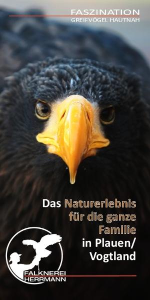 Cover Prospekt Falknerei Herrmann