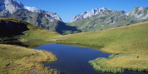 Platzis See mit Schweizer Tor