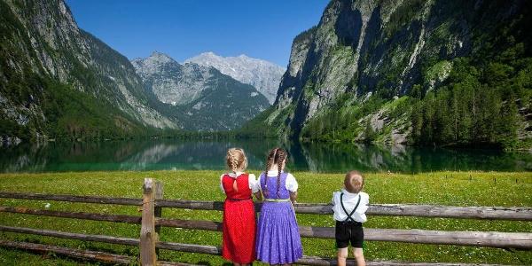 Kinder am Obersee