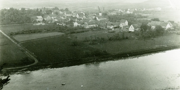 Bringhausen vor der Überflutung