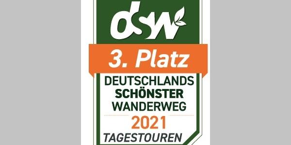 Deutschlands Schönster Wanderweg 2021