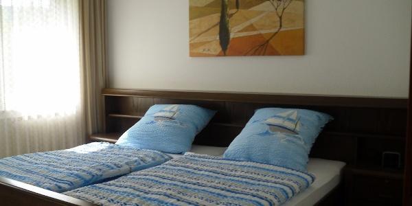 Schlafzimmer Ferienwohnung Hellmig