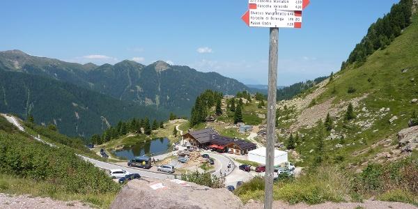 Rifugio Passo Manghen