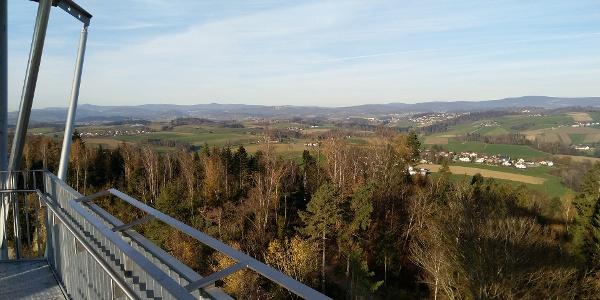 Aussichtsturm Büchlberg - beim Steinbruch