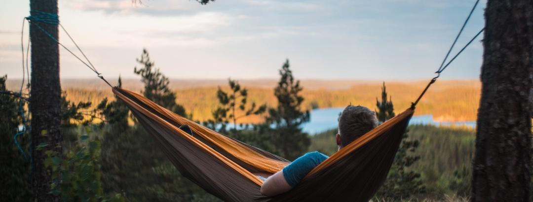 Entspannen in der finnischen Natur