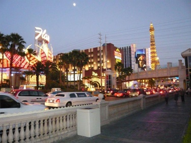 Eine Nacht in Las Vegas