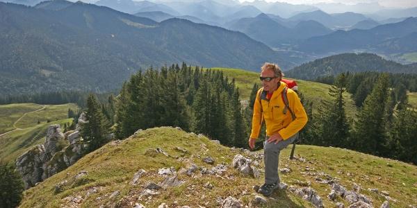 Gipfelanstieg Fockenstein
