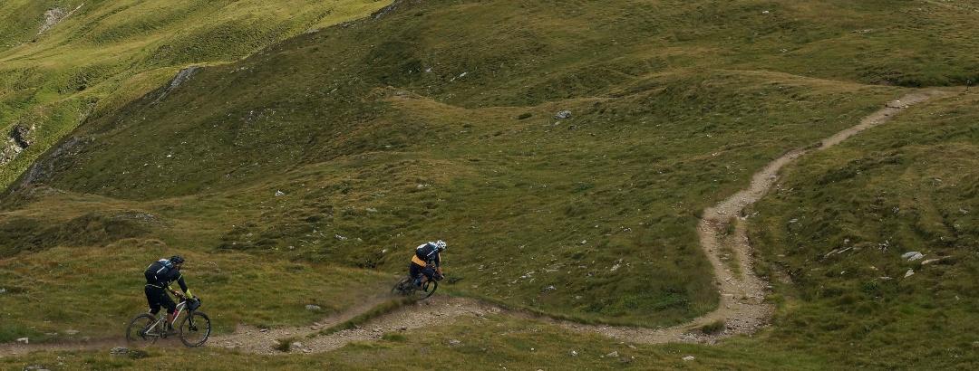 Eine Alpenüberquerung mit dem MTB ist eine traumhafte Erfahrung