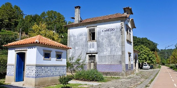 Old train station of Cinfães, Tamega cyclepath