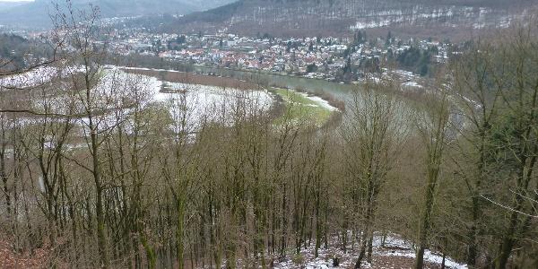 Neckarsteig: Heidelberg bis Neckargemünd