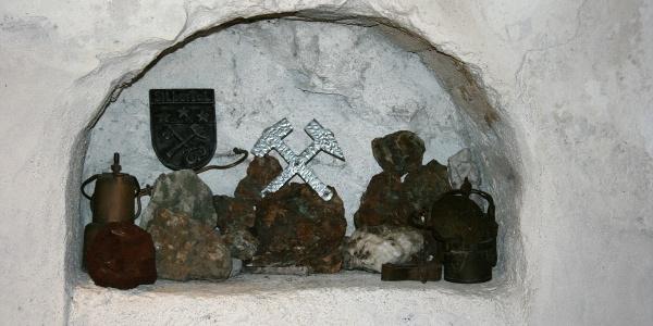 St. Agatha Bergknappenkapelle Detailansicht