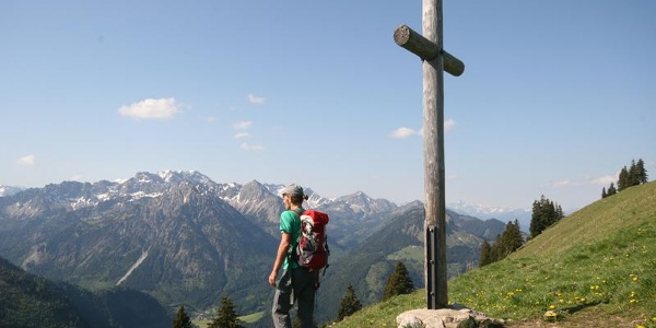 Ornach Gipfelkreuz