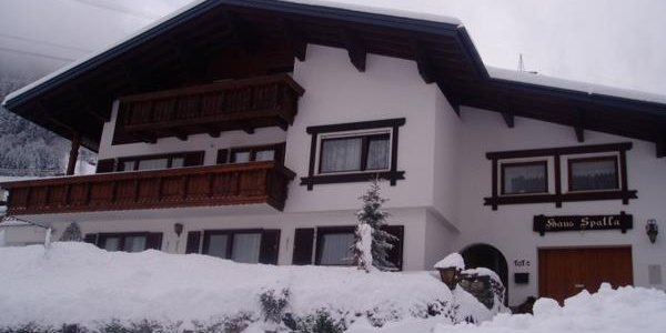 Haus Spatla Winter