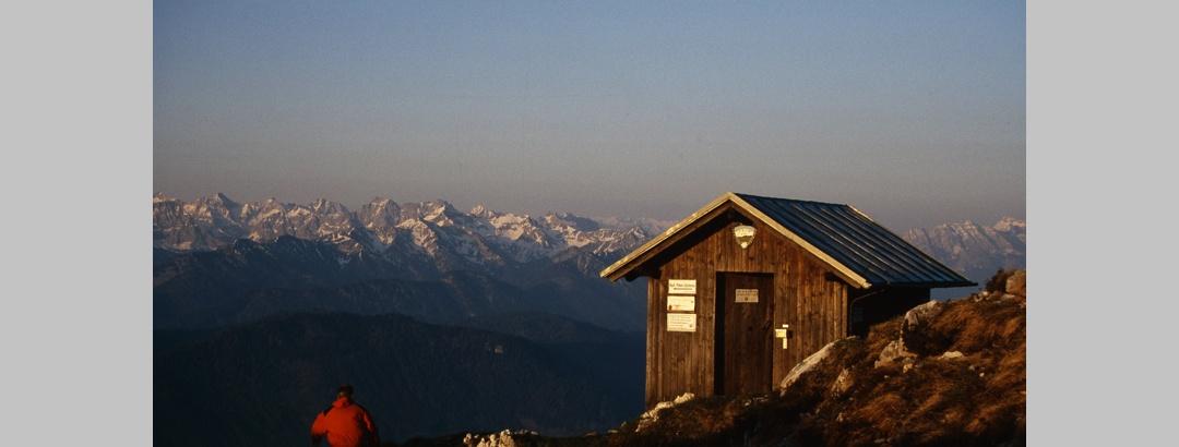 Gipfelhütte Bendiktenwand