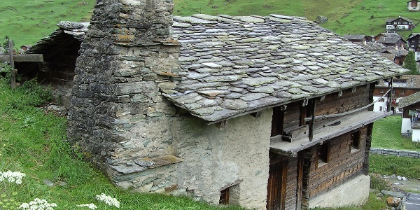 Etappe 2: Gandahus, Heimatmuseeum in Vals