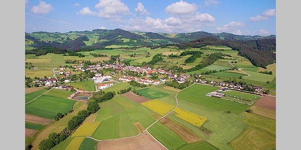 Blick über Raxendorf