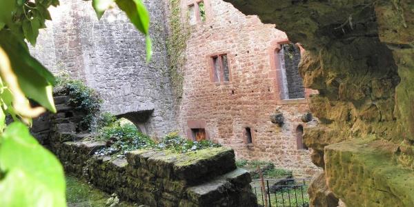 Burg Stolzeneck Innenaufnahme