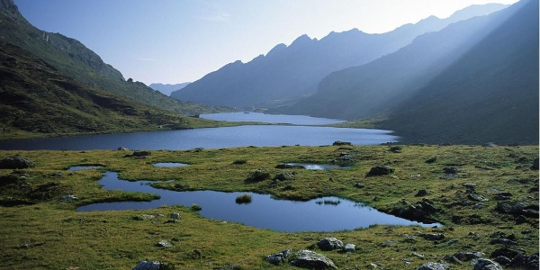 Upper and Lower Giglachsee Lakes