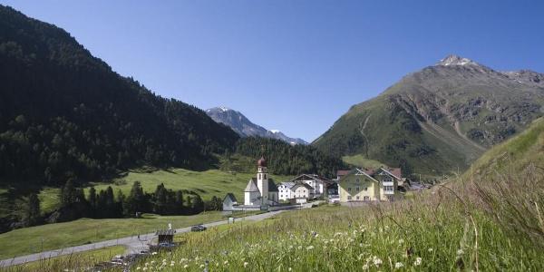 Der Ausgangspunkt - das Bergsteigerdorf Vent