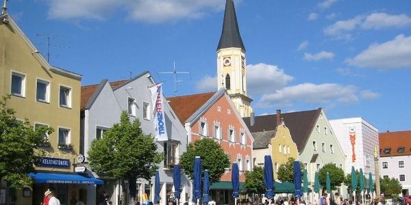 Kelheim, Ludwigsplatz