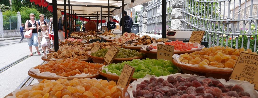 Markttreiben in Sóller