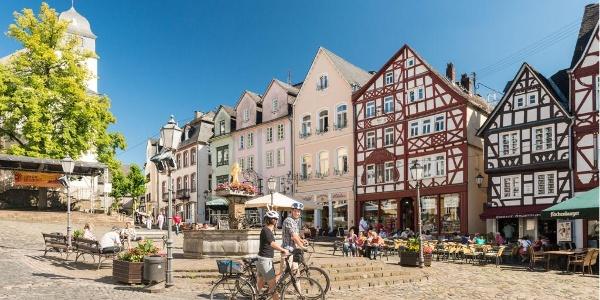 Alter Markt Hachenburg, Nister-Radweg