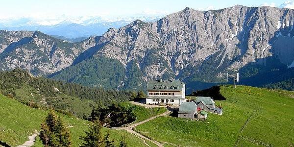 Blick vom Weg zum Gipfel der Rotwand