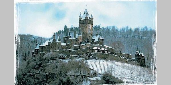 Reichsburg im Winter