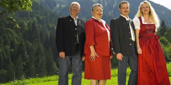 die Gastgeberfamilie