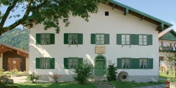 Aussenansicht Dorfmuseum Unterammergau
