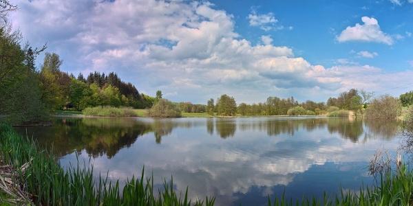 Roberner See Panorama