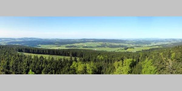 Panorama nach Süden vom der Kaiser Franz Josefs Warte