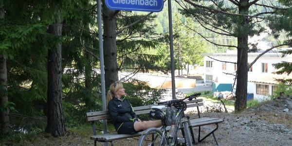 Diese Mountainbiketour bietet sich hervorragend mit einer Bahnfahrt an.