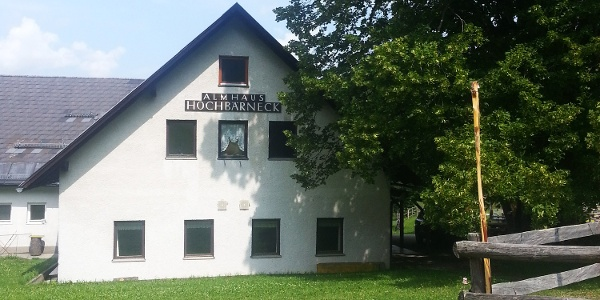 Almhaus Hochbärneck (Copyright: Andrea Daxböck)