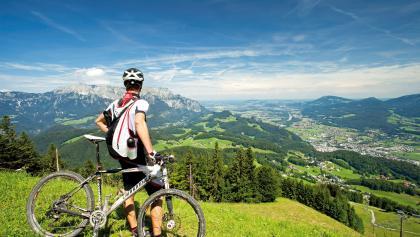 Blick vom Zinkenkogel Richtung Salzburg