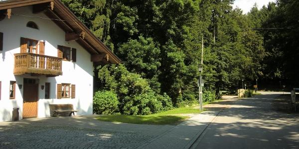 Startpunkt: Dorfplatz in Greimharting
