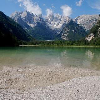 Dürrensee mit Monte Cristallo