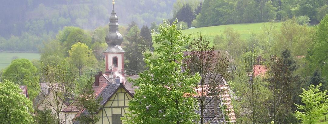 Walfahrtskirche in Moosbronn