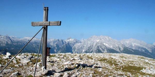 Gipfelkreuz Hohes Brett