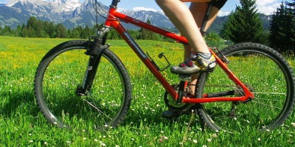 Mit dem Bike unterwegs