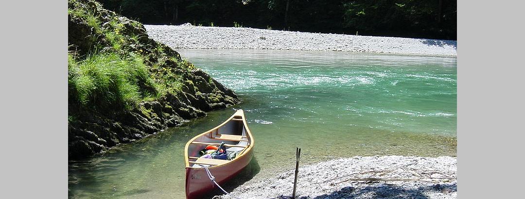 Die Tiroler Ache in der Entenlochklamm