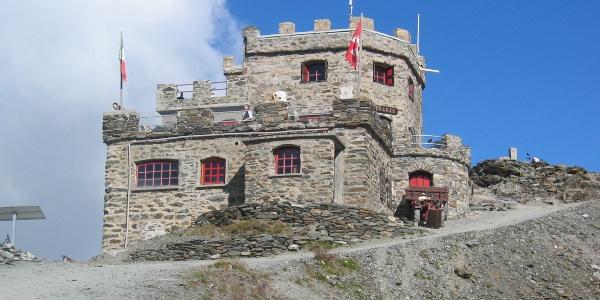 Das Rifugio Garibaldi.