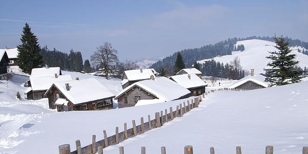 Bödele im Winter