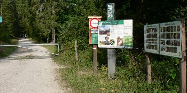 Im Europaschutzgebiet (Natura 2000)