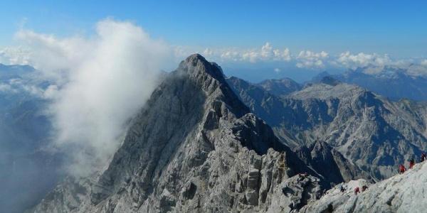 Blick zur Südspitze